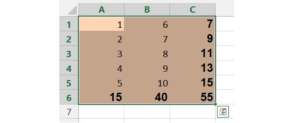 There you go! Imagine how much time you could save if you have 50 columns and 1,000 rows