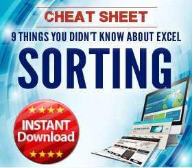 Cheat Sheet - Sorting - everything you ever wanted to know