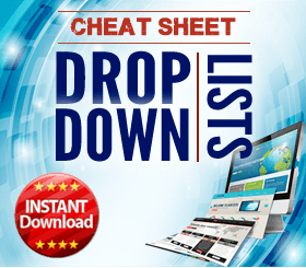 Drop-down lists in Excel (cover)