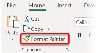The Format Painter tool lets you copy and paste FORMATTING rather than content. There is rarely a day goes by where I don't use this fantastic Word auditing tool.