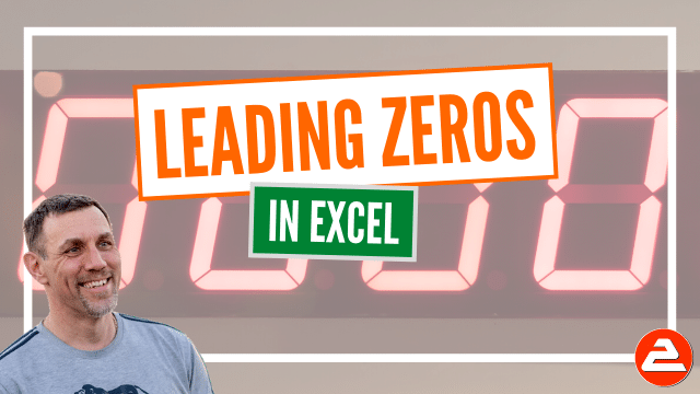 When you type a number with leading zeros, e.g. 00123, Excel drops the leading zeros as soon as you press Enter. Unless you apply this expert tip, that is.