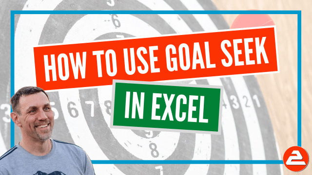 Goal Seek is a simple tool that finds the exact input value required to generate the answer you have specified.
