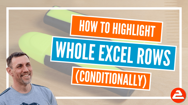 Conditional Formatting is versatile. When a condition is true, a format is applied. Using conditional formatting formulas hands you complete control.