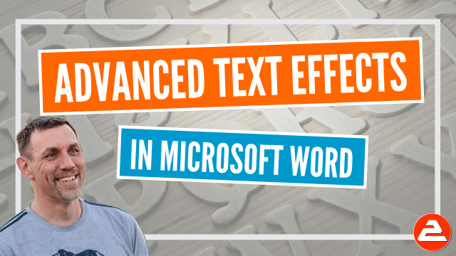Advanced text effects in Microsoft Word: Kerning, ligatures, stylistic effects, superscript, subscript, lowering text, stretching, spacing, drop caps, separators, text watermarks, image watermarks