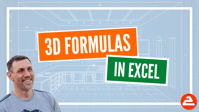 3D formulas are simpler, take less time to create than regular formulas and are less prone to errors. What's not to like?