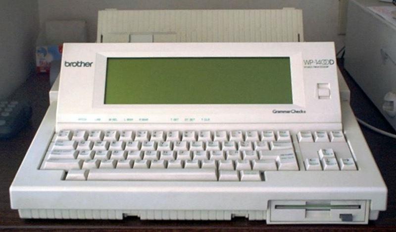 Brother Word Processor circa 1994