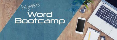 Beginners Word Bootcamp