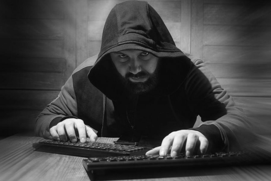 Cyber attacks from the Hacker in the Hood